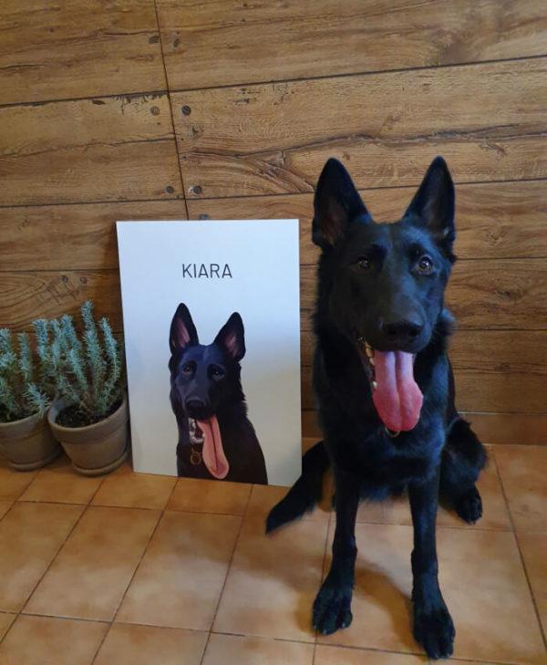 kiara es a portre High Quality 2 1